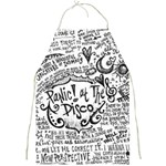 Panic! At The Disco Lyric Quotes Full Print Aprons Front