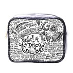 Panic! At The Disco Lyric Quotes Mini Toiletries Bags Front