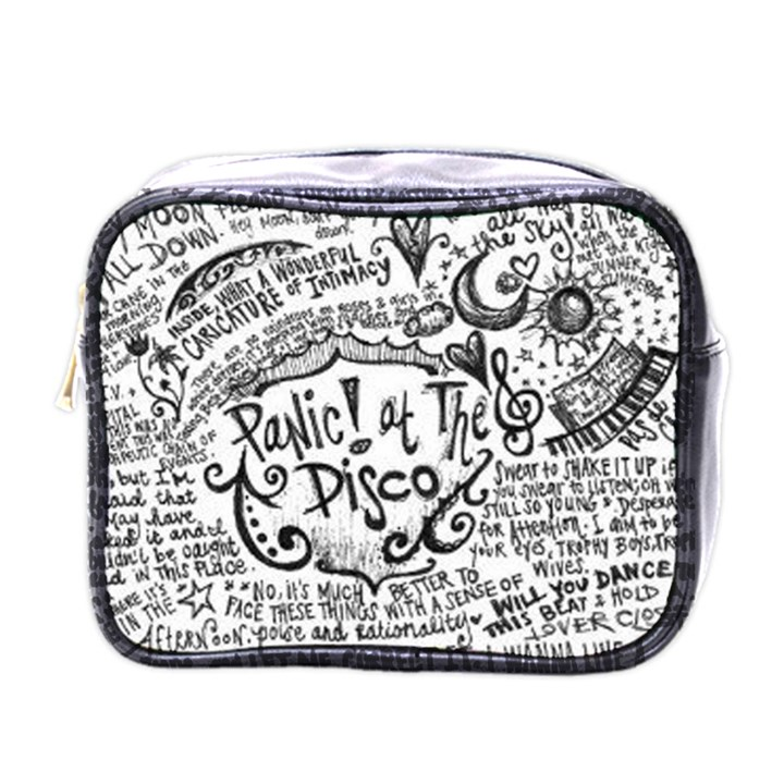 Panic! At The Disco Lyric Quotes Mini Toiletries Bags