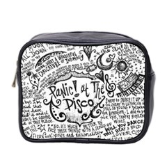 Panic! At The Disco Lyric Quotes Mini Toiletries Bag 2-Side