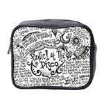 Panic! At The Disco Lyric Quotes Mini Toiletries Bag 2-Side Front