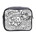 Panic! At The Disco Lyric Quotes Mini Toiletries Bag 2-Side Back