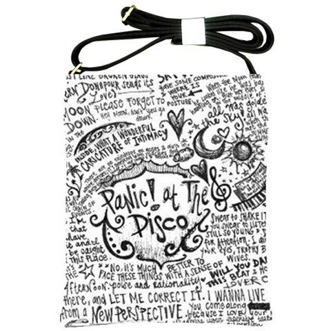 Panic! At The Disco Lyric Quotes Shoulder Sling Bags