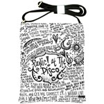 Panic! At The Disco Lyric Quotes Shoulder Sling Bags Front