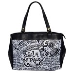 Panic! At The Disco Lyric Quotes Office Handbags Front