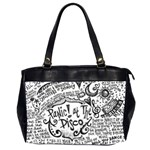 Panic! At The Disco Lyric Quotes Office Handbags (2 Sides)  Front