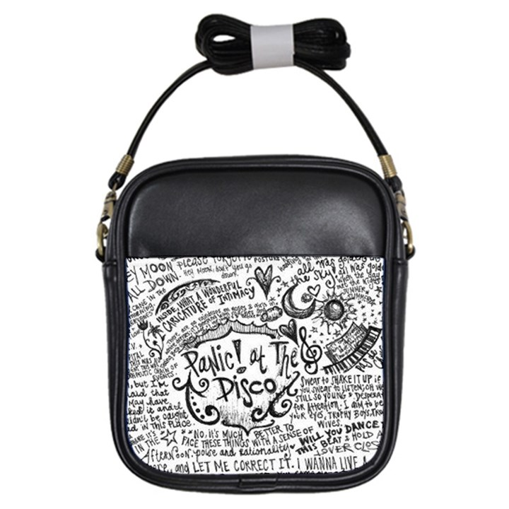 Panic! At The Disco Lyric Quotes Girls Sling Bags