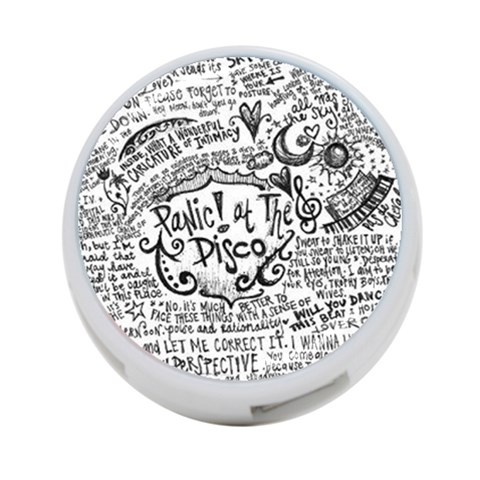 Panic! At The Disco Lyric Quotes 4-Port USB Hub (One Side)