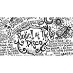 Panic! At The Disco Lyric Quotes Magic Photo Cubes Long Side 1