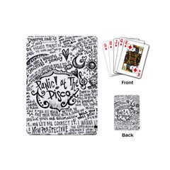 Panic! At The Disco Lyric Quotes Playing Cards (Mini)