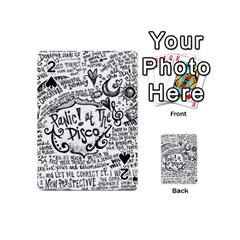 Panic! At The Disco Lyric Quotes Playing Cards 54 (Mini)