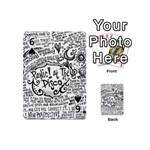 Panic! At The Disco Lyric Quotes Playing Cards 54 (Mini)  Front - Spade6