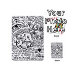 Panic! At The Disco Lyric Quotes Playing Cards 54 (Mini)  Front - Spade7