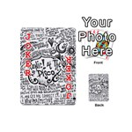 Panic! At The Disco Lyric Quotes Playing Cards 54 (Mini)  Front - Joker2