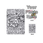 Panic! At The Disco Lyric Quotes Playing Cards 54 (Mini)  Back
