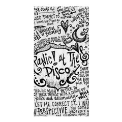 Panic! At The Disco Lyric Quotes Shower Curtain 36  X 72  (stall)