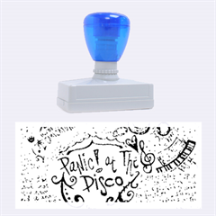 Panic! At The Disco Lyric Quotes Rubber Stamps (Large)
