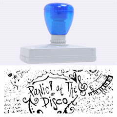 Panic! At The Disco Lyric Quotes Rubber Address Stamps (XL)