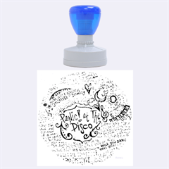 Panic! At The Disco Lyric Quotes Rubber Round Stamps (Large)