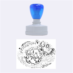 Panic! At The Disco Lyric Quotes Rubber Oval Stamps