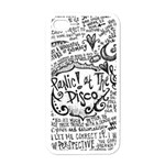 Panic! At The Disco Lyric Quotes Apple iPhone 4 Case (White) Front