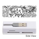Panic! At The Disco Lyric Quotes Memory Card Reader (Stick)  Front
