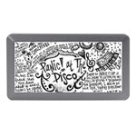 Panic! At The Disco Lyric Quotes Memory Card Reader (Mini) Front