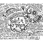 Panic! At The Disco Lyric Quotes Deluxe Canvas 14  x 11  14  x 11  x 1.5  Stretched Canvas