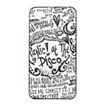 Panic! At The Disco Lyric Quotes Apple iPhone 4/4s Seamless Case (Black) Front