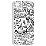 Panic! At The Disco Lyric Quotes Apple iPhone 4/4s Seamless Case (White) Front