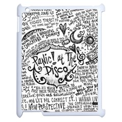 Panic! At The Disco Lyric Quotes Apple Ipad 2 Case (white)