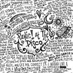 Panic! At The Disco Lyric Quotes Twin Heart Bottom 3D Greeting Card (8x4) Inside
