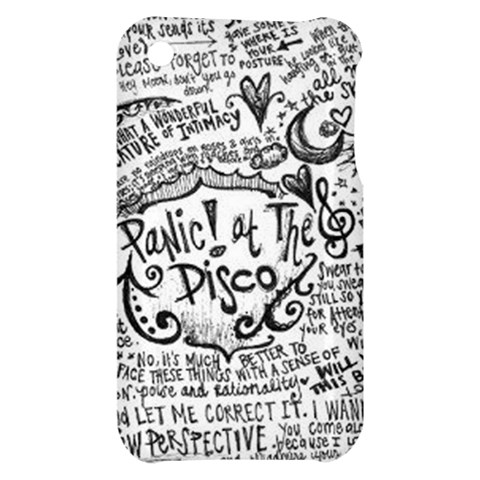 Panic! At The Disco Lyric Quotes Apple iPhone 3G/3GS Hardshell Case