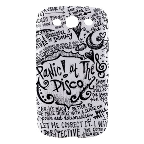 Panic! At The Disco Lyric Quotes Samsung Galaxy S III Hardshell Case