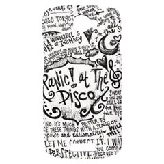 Panic! At The Disco Lyric Quotes HTC One S Hardshell Case