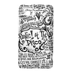 Panic! At The Disco Lyric Quotes HTC Vivid / Raider 4G Hardshell Case
