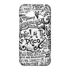 Panic! At The Disco Lyric Quotes HTC Droid Incredible 4G LTE Hardshell Case