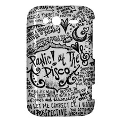 Panic! At The Disco Lyric Quotes HTC Wildfire S A510e Hardshell Case