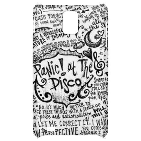 Panic! At The Disco Lyric Quotes Samsung Infuse 4G Hardshell Case