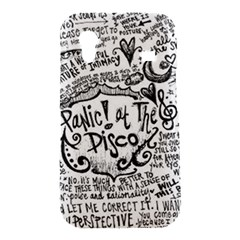 Panic! At The Disco Lyric Quotes Samsung Galaxy Ace S5830 Hardshell Case