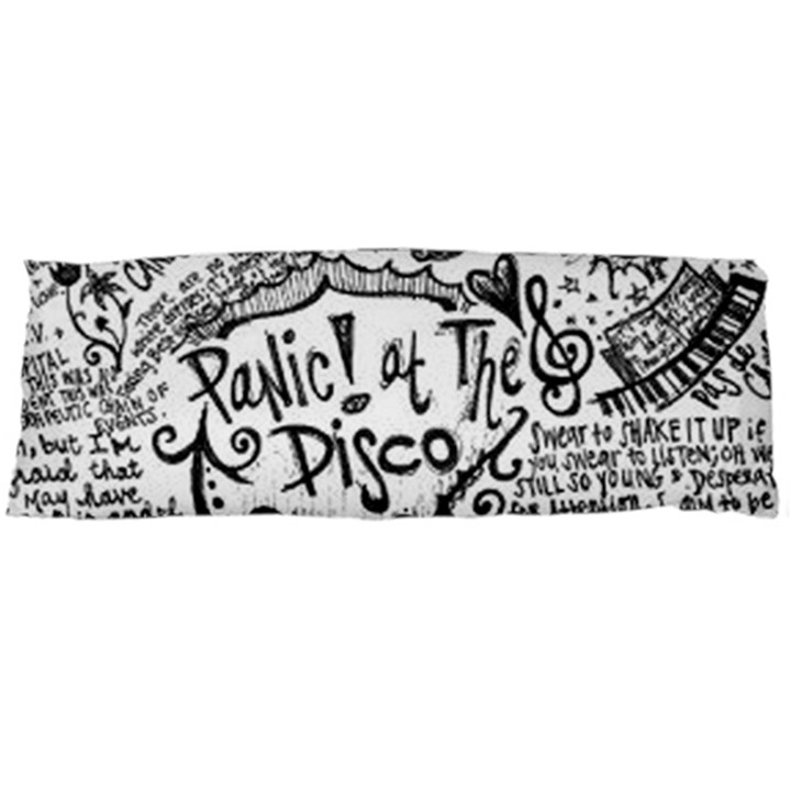 Panic! At The Disco Lyric Quotes Body Pillow Case (Dakimakura)
