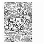 Panic! At The Disco Lyric Quotes Large Garden Flag (Two Sides) Front