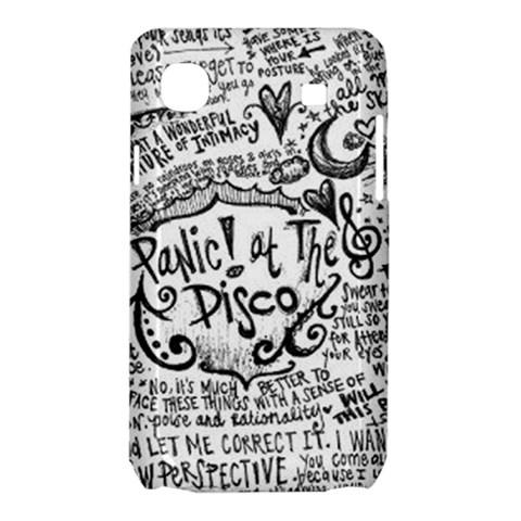 Panic! At The Disco Lyric Quotes Samsung Galaxy SL i9003 Hardshell Case