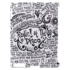 Panic! At The Disco Lyric Quotes Apple iPad 2 Hardshell Case (Compatible with Smart Cover)