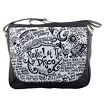 Panic! At The Disco Lyric Quotes Messenger Bags Front