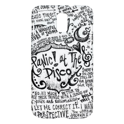 Panic! At The Disco Lyric Quotes Samsung Galaxy S II Skyrocket Hardshell Case