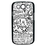 Panic! At The Disco Lyric Quotes Samsung Galaxy S III Case (Black) Front