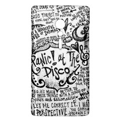 Panic! At The Disco Lyric Quotes Sony Xperia ion
