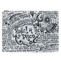 Panic! At The Disco Lyric Quotes Cosmetic Bag (xxl)