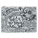 Panic! At The Disco Lyric Quotes Cosmetic Bag (XXL)  Front